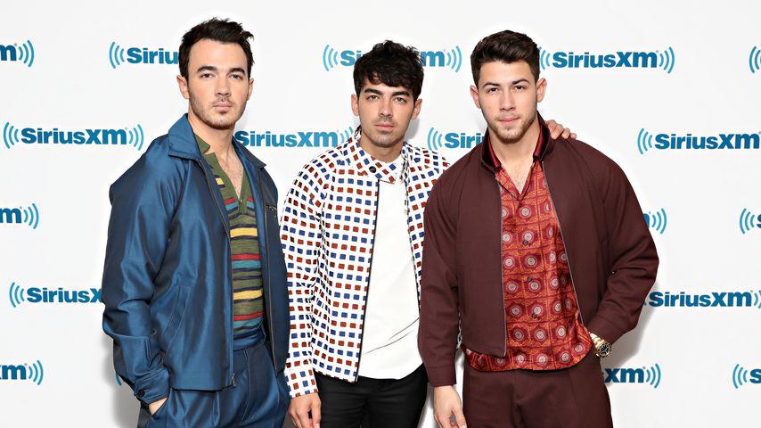 Kevin, Nick und Joe Jonas im Juni 2019 in New York