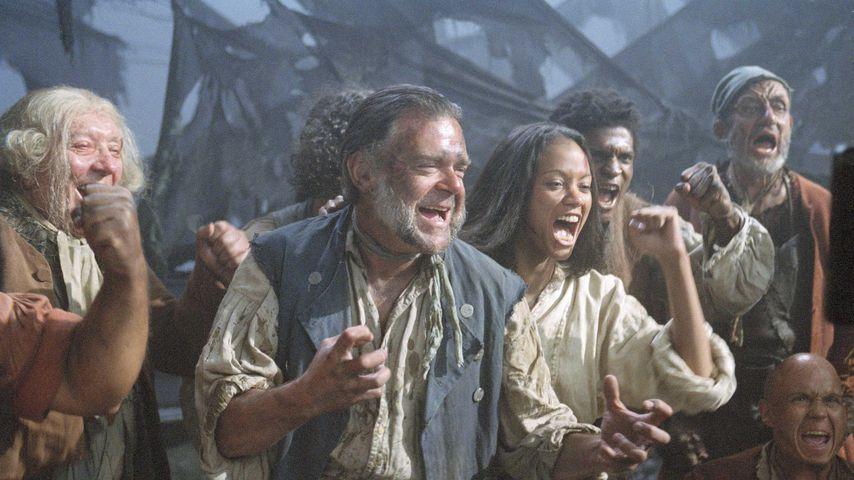 """Kevin R. Mcnally und Zoe Saldana in """"Fluch der Karibik"""""""
