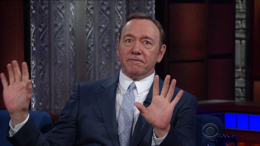 "Kevin Spacey in der ""Late Night Show"""