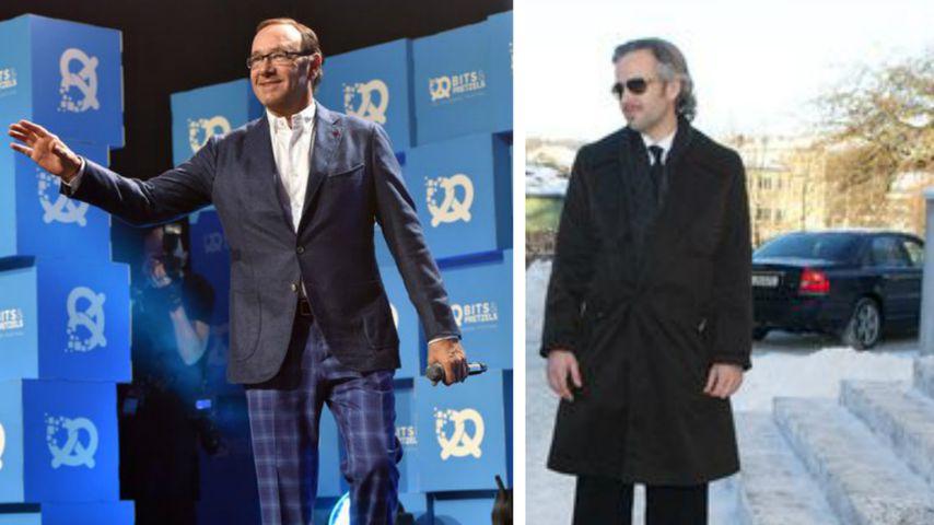 Schauspieler Kevin Spacey und Schriftsteller Ari Behn
