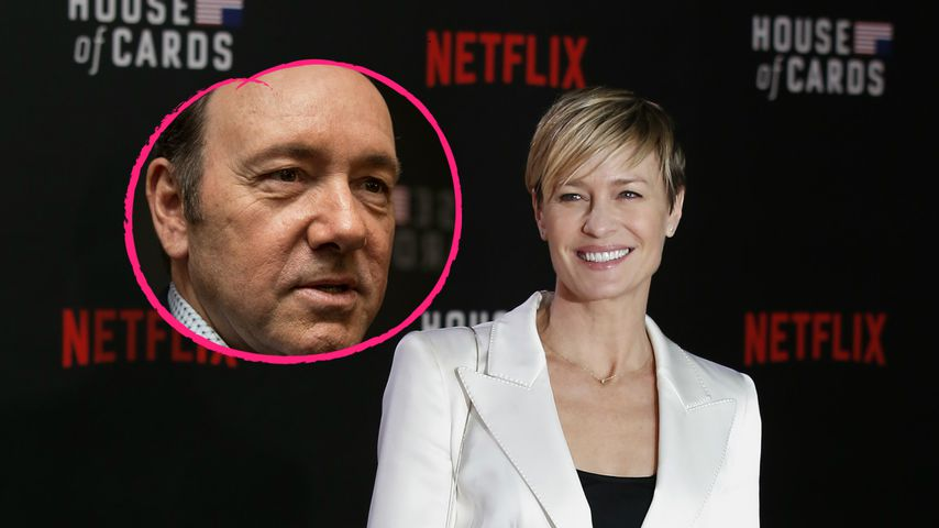 "Nach Spacey-Drama: Robin Wright rettete ""House of Cards""!"