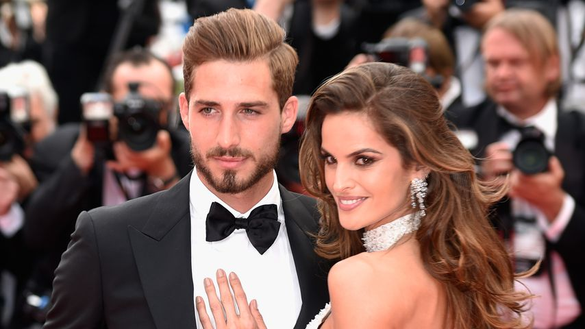 Kevin Trapp und Izabel Goulart in Cannes 2017
