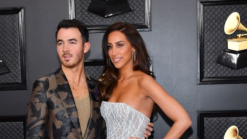Kevin und Danielle Jonas bei den Grammy Awards 2020