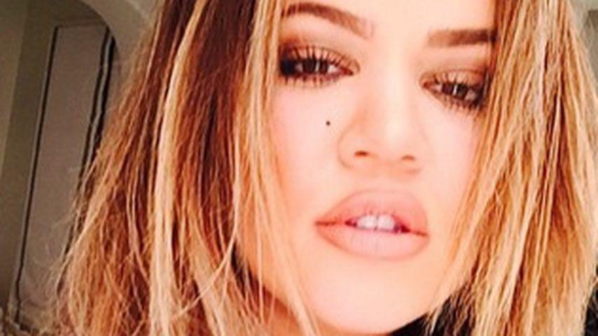 Neuer Look: Khloe Kardashian ist jetzt hellblond