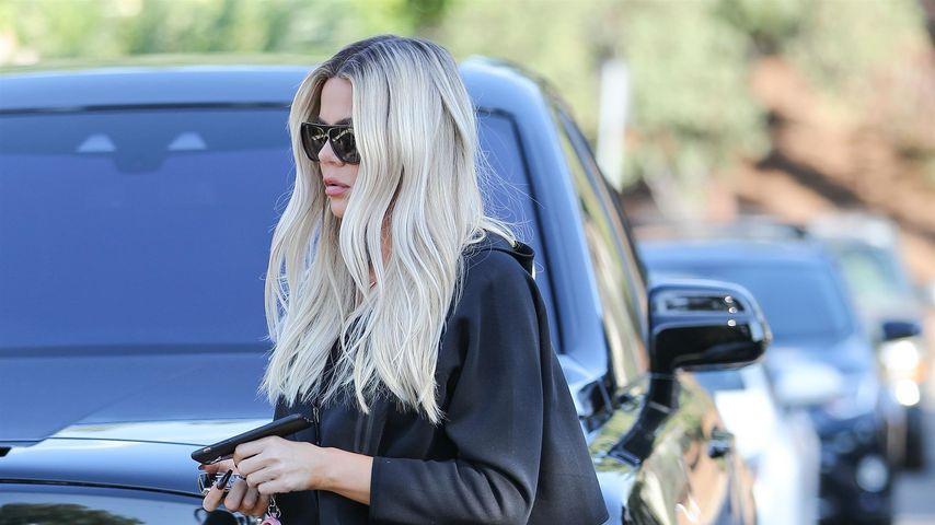 Khloe Kardashian in Los Angeles