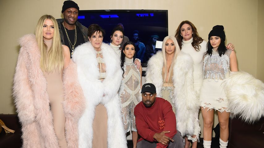 Khloe Kardashian, Lamar Odom, Kris Jenner, Kendall Jenner, Kourtney Kardashian, Kanye West, Kim Kard