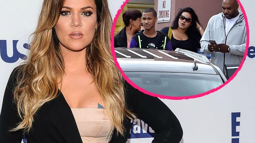 Besuchsverbot: Khloe Kardashian verdrängt Lamars Familie
