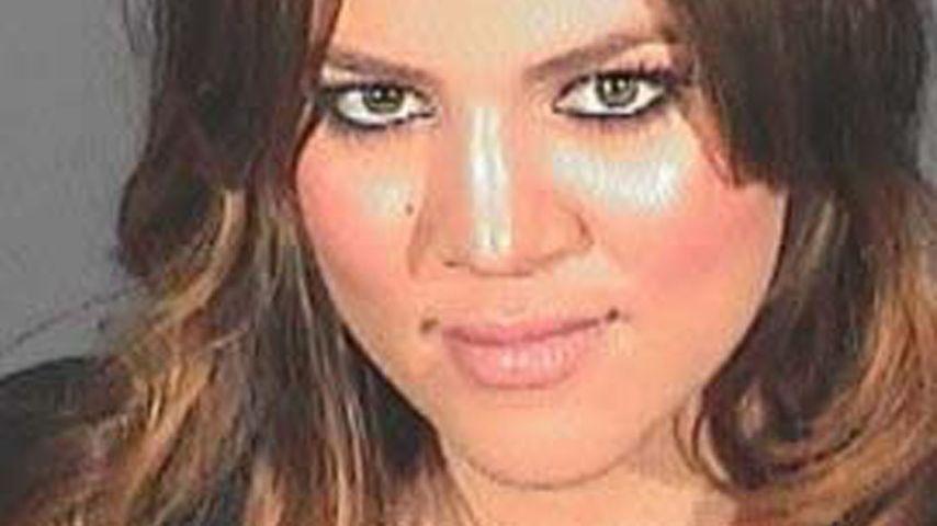 Mugshot von Khloe Kardashian