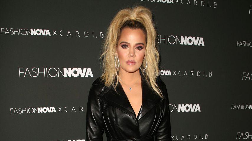 Khloe Kardashian auf dem Fashion Nova x Cardi B Collaboration Launch Event
