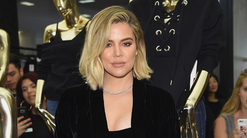 Khloe Kardashian im Oktober 2017 in New York