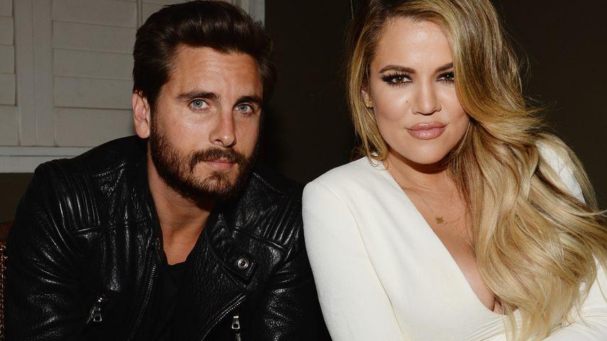 Khloe Kardashian und Scott Disick