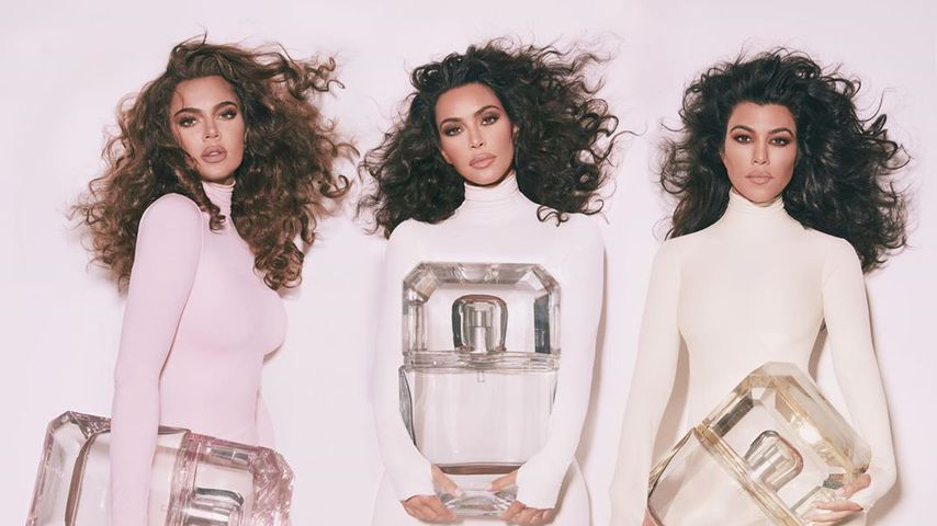 Khloe, Kim und Kourntey Kardashian, Oktober 2019