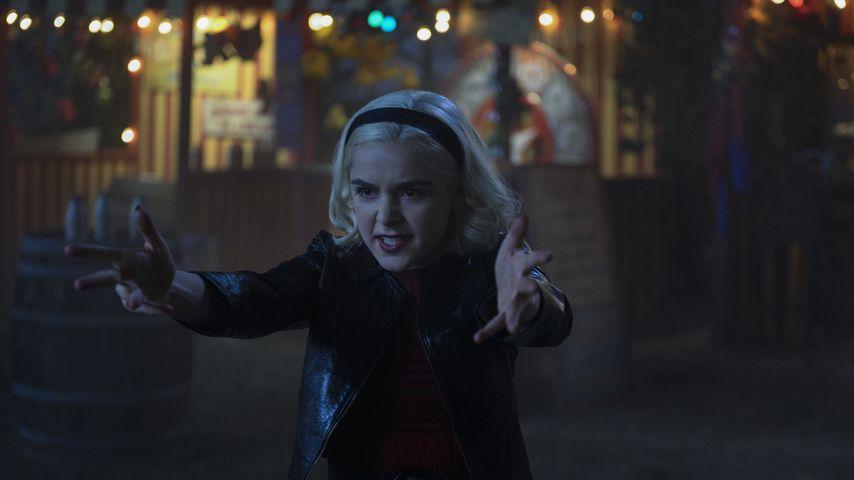 "Kiernan Shipka in ""Chilling Adventures of Sabrina"""