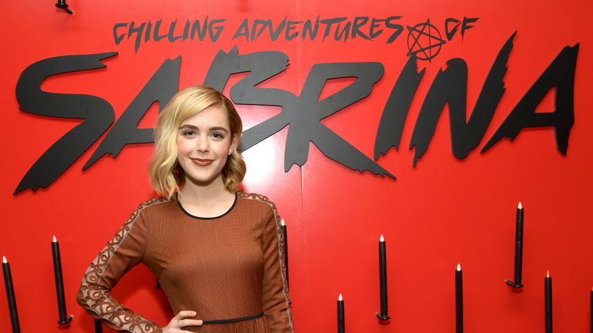 """""""Chilling Adventures of Sabrina""""-Star Kiernan Shipka, März 2019"""