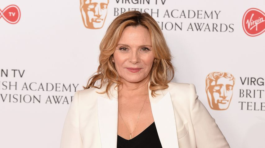 Kim Cattrall bei den Virgin TV BAFTA Television Awards