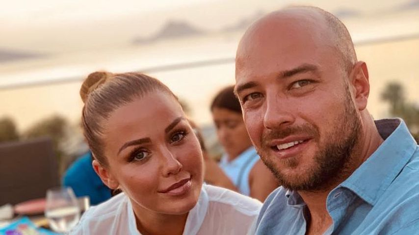 Kim Gloss und Alexander Beliaikin im Juli 2019