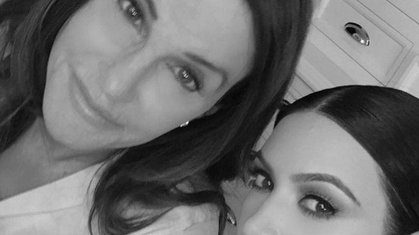 Mädelsabend: Caitlyn Jenner & Kim Kardashian chillen