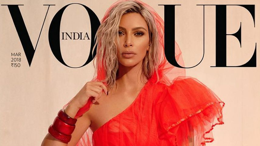 Kim Kardashian auf dem Cover der Vogue India