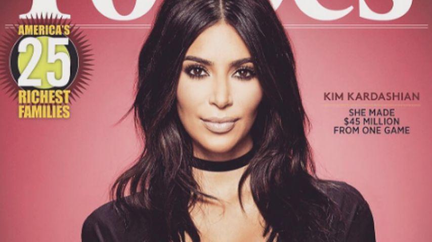 Kim Kardashian auf dem Forbes-Cover