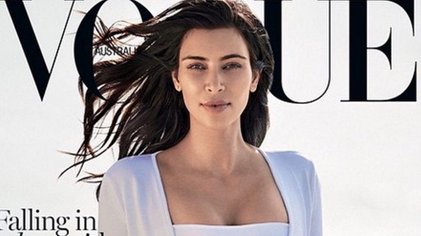 Wow! So bezaubert Kim Kardashian auf der Vogue