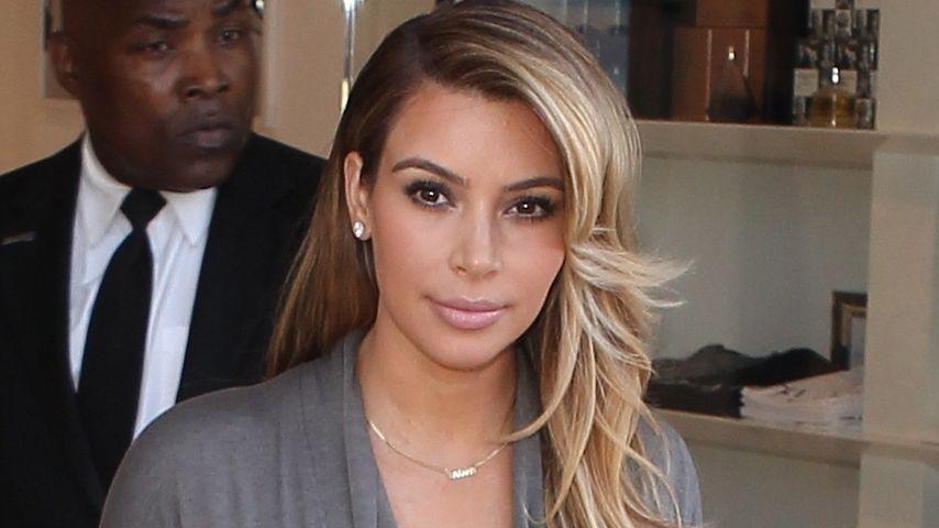 Kim Kardashian: Ihr Rezept gegen die Babypfunde