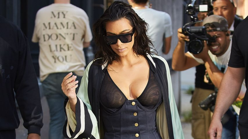 Gepanzertes Auto & Pistolen: Kim Kardashians neue Security