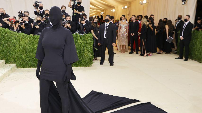Kim Kardashian bei der Met Gala 2021