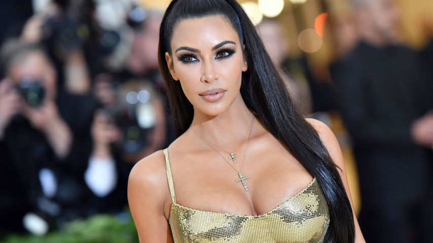Kim Kardashian bei der Met Gala 2018 in New York
