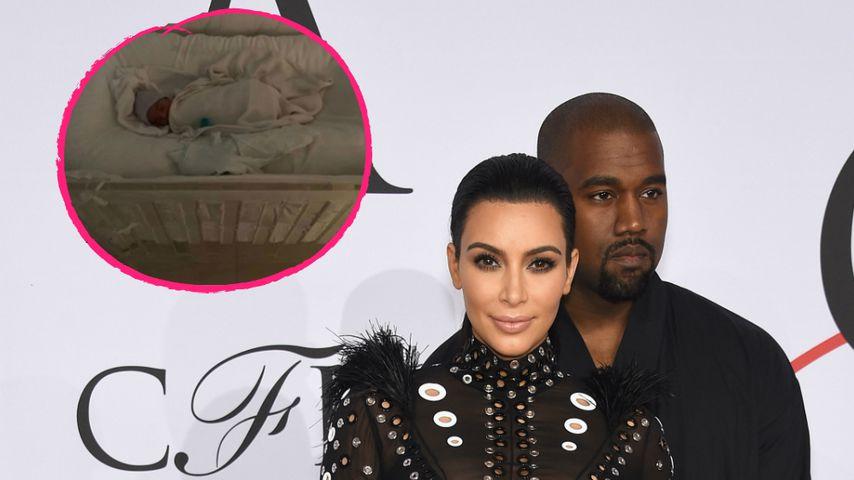 Mit Krippen-Pic: Kim & Kanye verraten Namen von viertem Baby