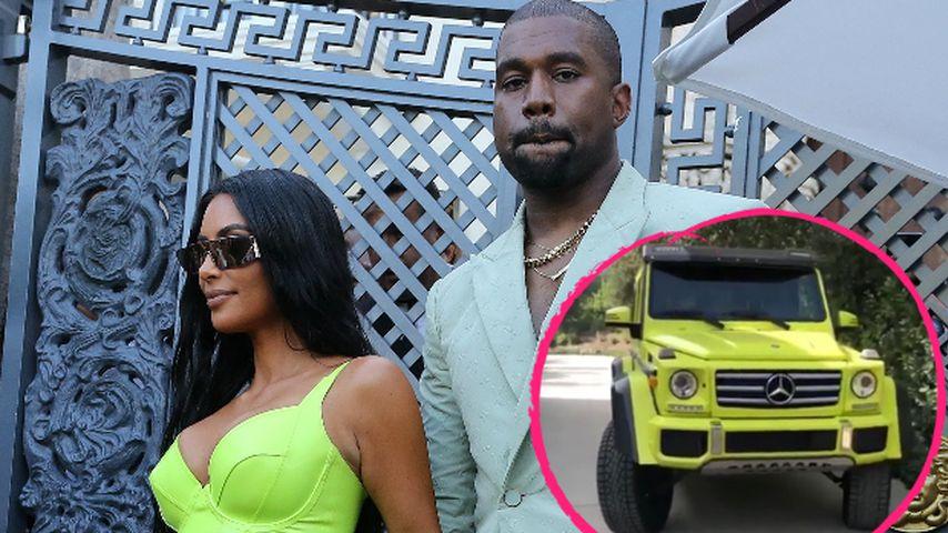 Nach Neon-Auftritt: Kanye schenkt Kim K. ihr Wunsch-Auto!