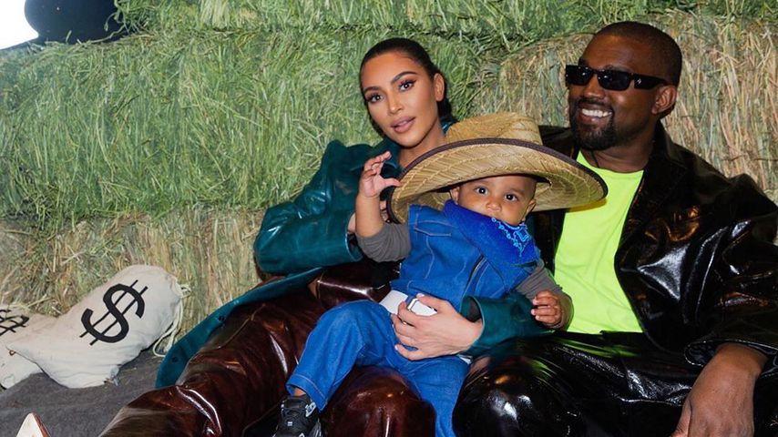 Kim Kardashian, Kanye West und Psalm
