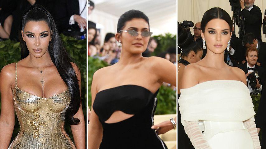 Kardashians & Jenners: Underdressed bei Met Gala 2018?