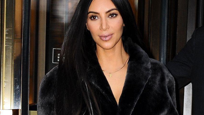 Wegen Trumps Einreiseverbot: Kim Kardashians Jet durchsucht!