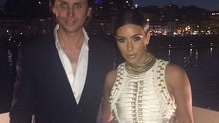 Foto-Fail: Wo ist Kim Kardashians Arm geblieben?
