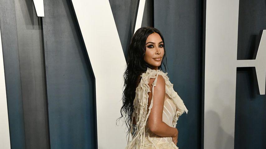 Kim Kardashian im Februar 2020 in Beverly Hills