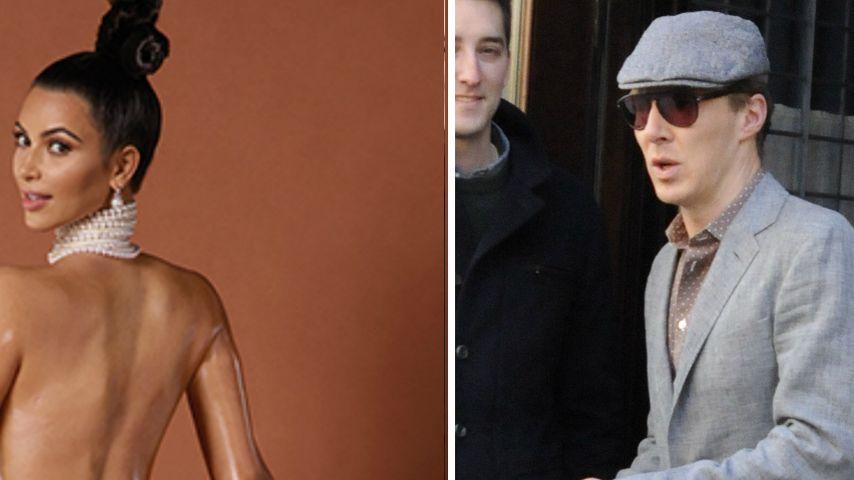 Benedict Cumberbatch: Irritiert vom Kardashian-Po