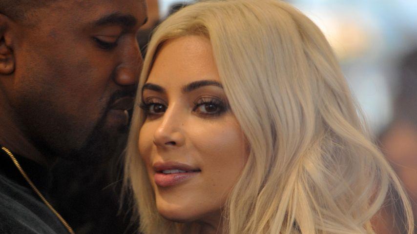 In Love: Kim & Kanye kuscheln sich durch Paris