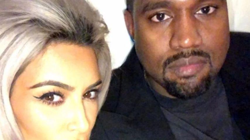 Kim Kardashian und Kanye West bei Chrissy Teigens Geburtstagsparty