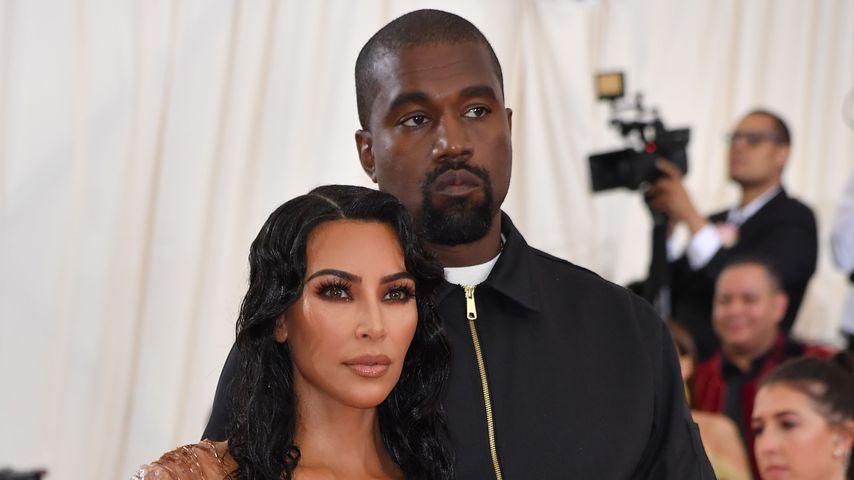 Kim Kardashian und Kanye West auf der Met Gala 2019