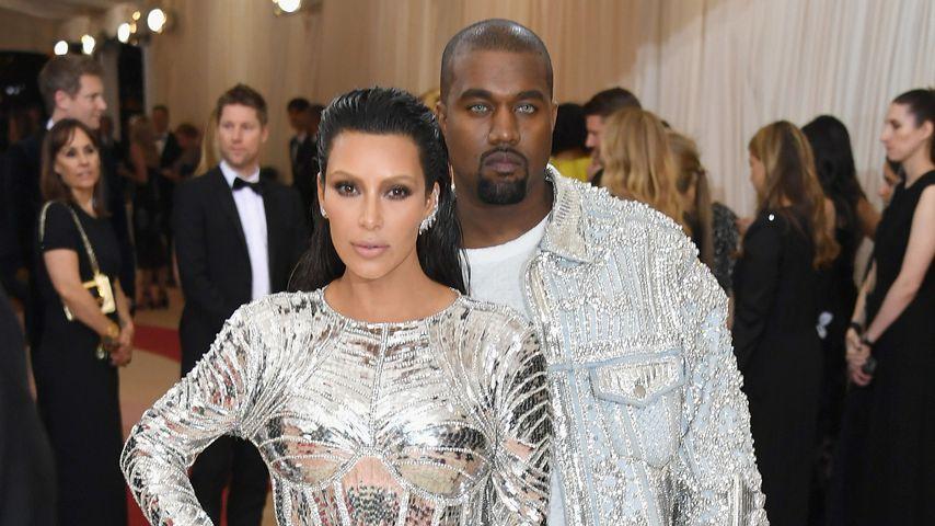 Kim Kardashian und Kanye West bei der Met Gala 2016
