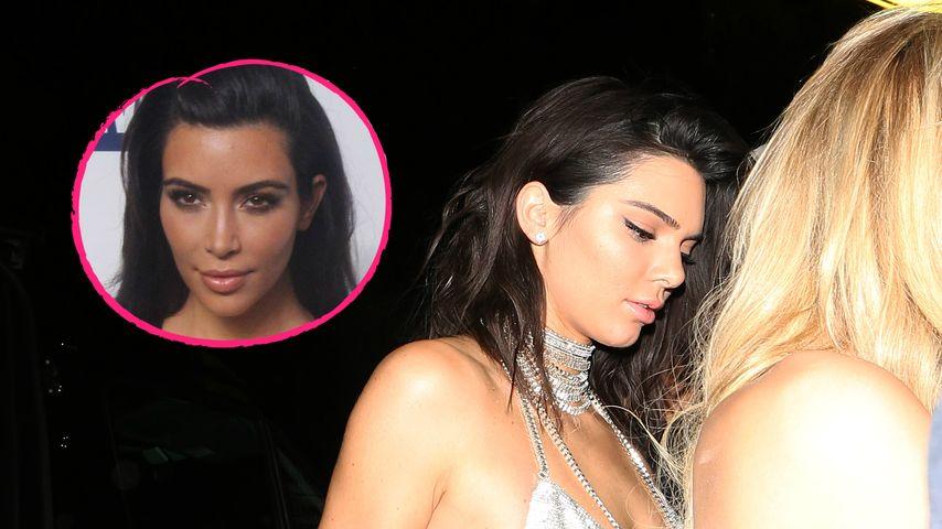 Geburtstag ohne Kim: Ließ sie Schwester Kendall im Stich?