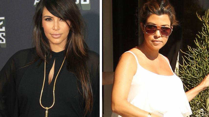 "Kim Kardashian gibt zu: ""Ich habe Kourtneys Style kopiert"""