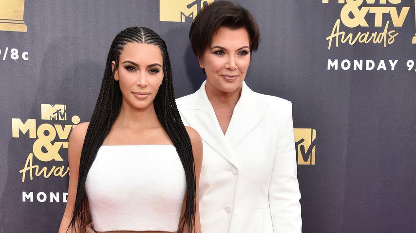 Kim Kardashian und Kris Jenner, 2018