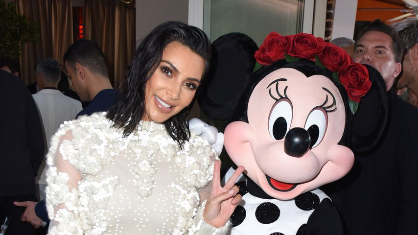 Kim Kardashian und Minnie Mouse bei den Fashion LA Awards 2017