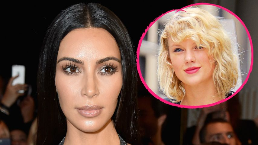 """Kim Kardashian: """"Ich bin sowas von über Taylor Swift hinweg"""""""