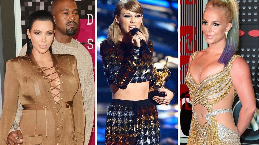 Kim Kardashian im Horror-Outfit: Die Tops & Flops der VMAs