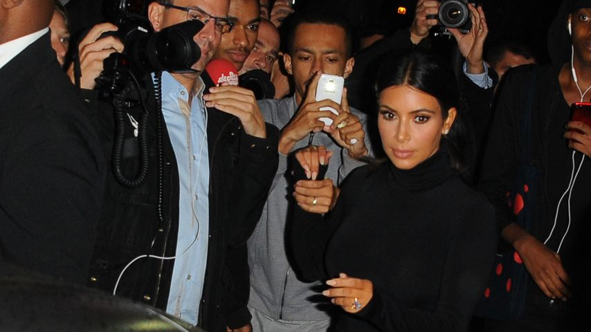 Attacke! So krass wurde Kim Kardashian umgerempelt
