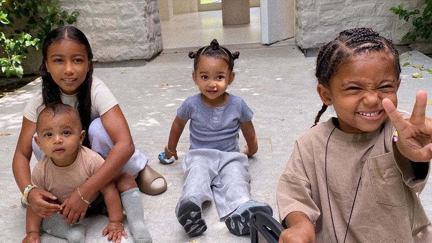Kim Kardashians Kinder Psalm, North, Chicago und Saint, Juni 2020