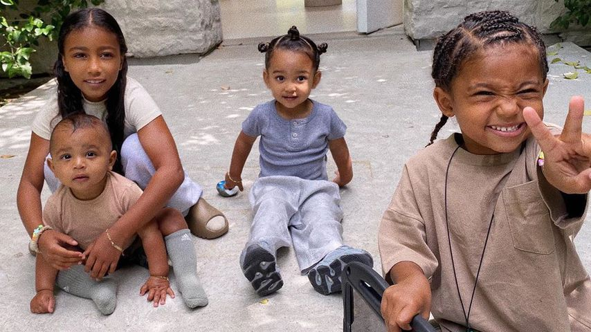 Kim Kardashians Kinder North, Psalm, Chicago und Saint