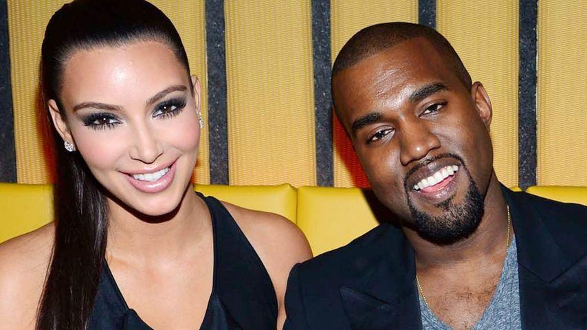 Kanye West will ein Baby mit Kim Kardashian!